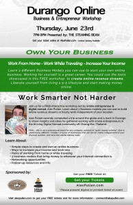 Durango Online Business and Entrepreneur Workshop - Alex Pullen Photograpy