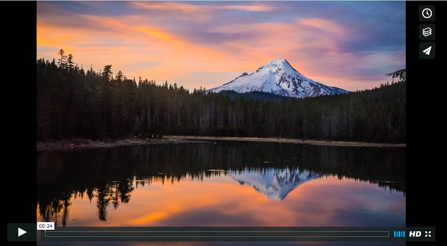 Mt. Hood Light-show – 4K time-lapse